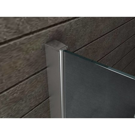 Inloopdouche AQUA-MIRROR 10 mm 100 x 200 cm NANO
