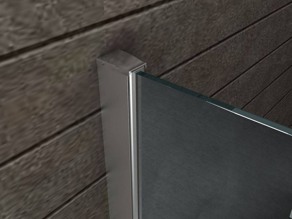 Inloopdouche Met Wastafelblad : Inloopdouche aqua mirror 10 mm 140 x 200 cm nano sanidream.nl