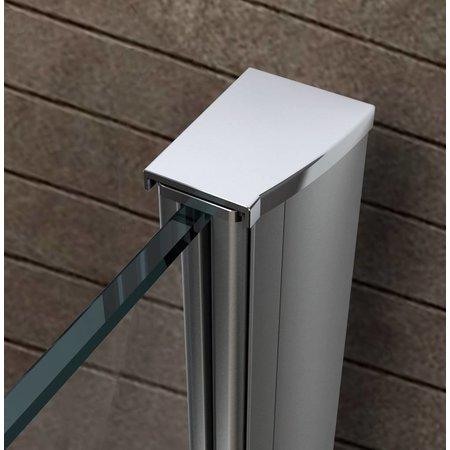 Inloopdouche AQUA-EXTRA 118 x 180 cm. 10 mm NANO glas