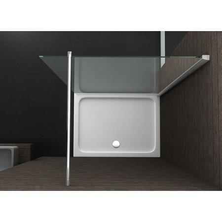 Inloopdouche AQUA-EXTRA 138 x 220 cm. 10 mm NANO glas
