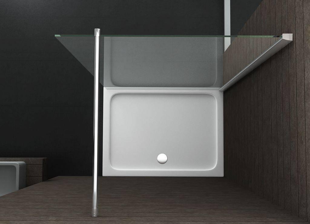 Inloopdouche Zonder Glas : Inloopdouche aqua extra cm mm nano g sanidream