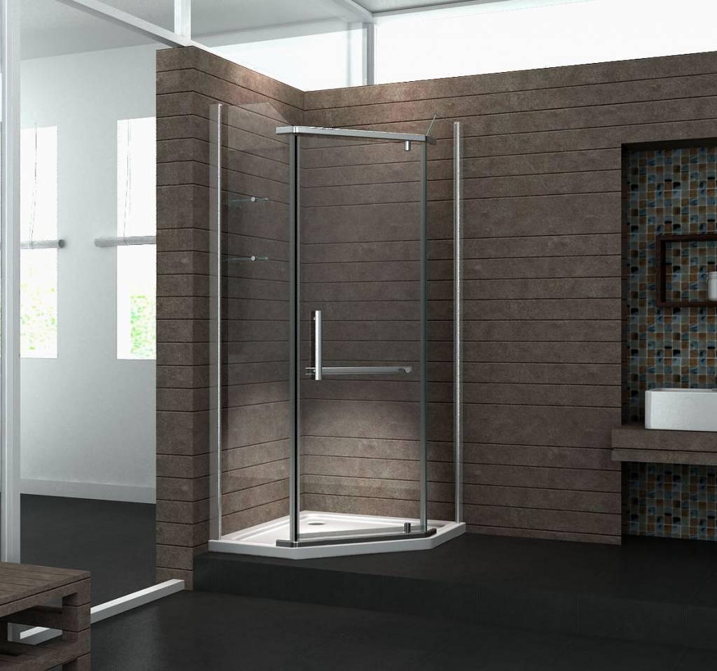 Het gebruiksgemak van een gesloten douchecabine