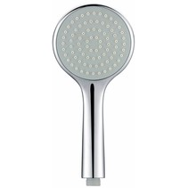 Single chroom ABS handdouche rond 1/2''