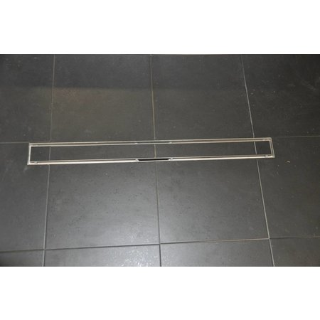 Drain tegelrooster 100 cm RVS