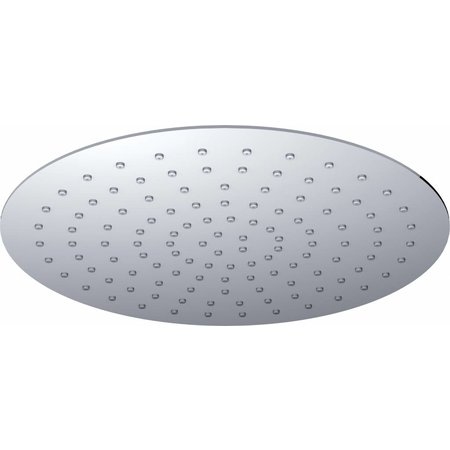 UFO Luxe hoofddouche rond 30cm Ultra plat chroom