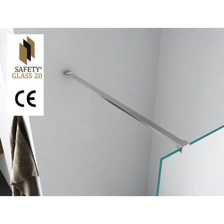 Safety Glass 2.0 1cm NANO 100x200cm inloop douche