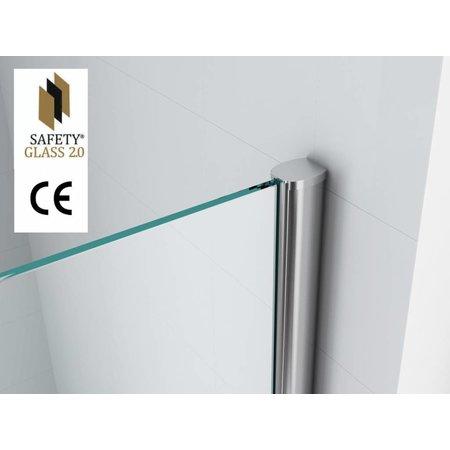 Safety Glass 2.0 10 mm NANO 120x200 cm inloop douche
