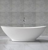 Solid Surface vrijstaand bad type 2 186x82x59 cm