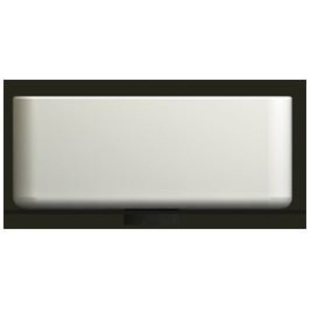 Link opzetwastafel vierkant 50 x 35 x 12 cm wit
