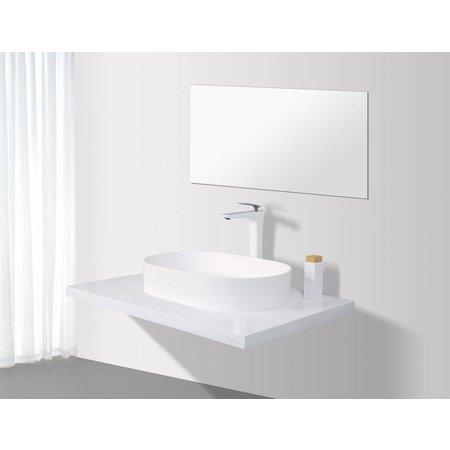 Rheiner Design SLIM Opzetwastafel Solid Surface 58 X 38 X 11 cm