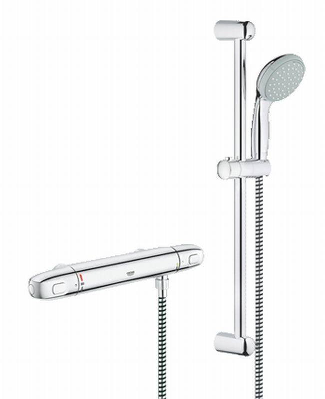 Grohe Grohtherm 1000 New douchecombinatie set 150MM chroom