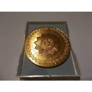Ehrenmedaille Volkspolizei echt vergoldet