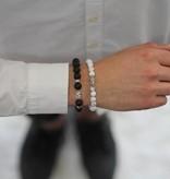 Wristbehavior Lucky Black Boeddha armband