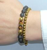 Wristbehavior Golden Boeddha armband