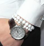 Wristbehavior White Boeddha armband