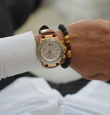 Wristbehavior Golden Tiger Cord armband