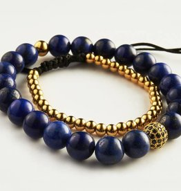 Wristbehavior WB Blue Royal Gold