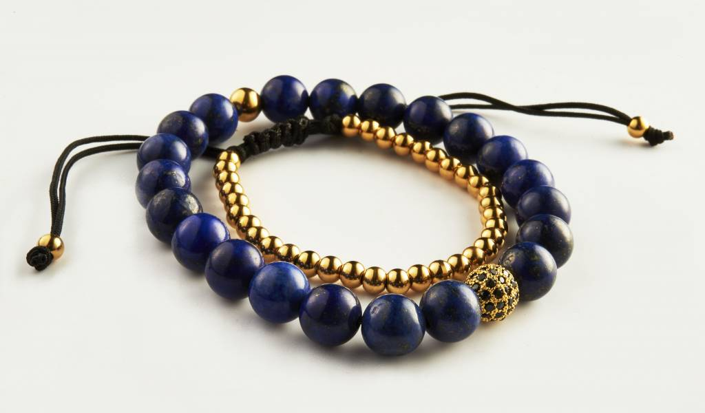 Wristbehavior Wrist Behavior Blue Royal Gold