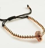 Wristbehavior Wrist Behavior Rose Gold Skull head