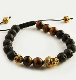 Wristbehavior Golden Tiger Cord