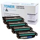 Set 4X alternatief Toner voor Hp 651A Laserjet 700 M775