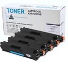 Set 4X alternatief Toner voor Brother Tn326 Tn-326 Hl-L8250