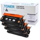 Set 4X alternatief Toner voor Lexmark X560 N Dn
