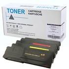 Set 4x XXL alternatief Toner voor Dell C2660 C2665