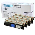 Set 4X alternatief Toner voor Minolta Magicolor 2400
