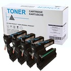 Set 4X alternatief Toner voor Minolta Mc5430