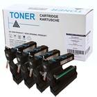 Set 4X alternatief Toner voor Minolta Mc5430
