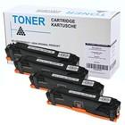 HP CC530 531 532 533. HP304A CP2025 Hp cm 2320 en Canon 718 TONERSET