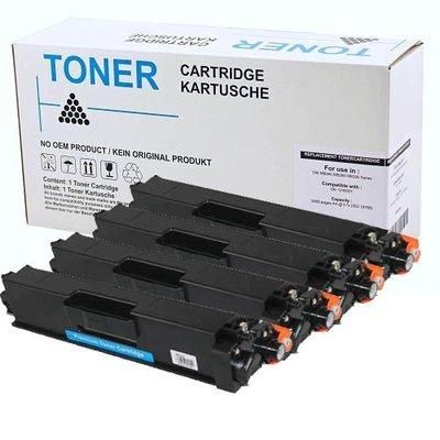 Set 4x alternatief Toner voor Brother TN423 BK C M Y