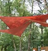 Sunfighter Schaduwdoek driehoek waterdoorlatend 600x600x600