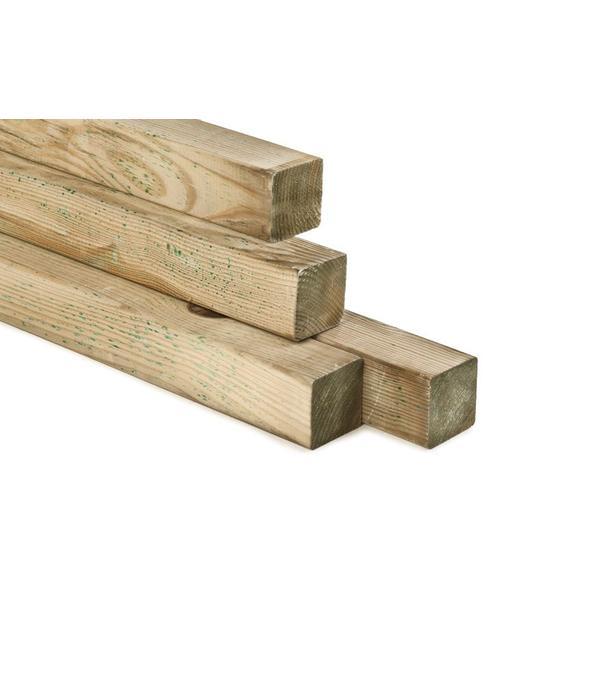 Houten paal 90x90x4000