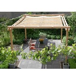 Shadowz pergola incl. wavesail 2,90 x 3,00 mtr. Waterdoorlatend