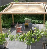 Sunfighter pergola incl. wavesail 2,90 x 5,00 mtr. Waterdoorlatend