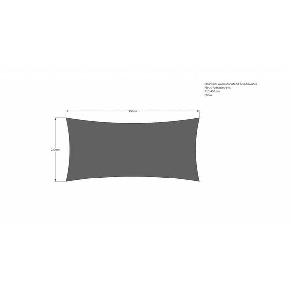 Schaduwdoek 220 x 460 cm