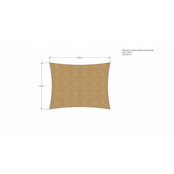 Schaduwdoek 230 x 300 cm