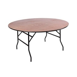 Folding table Ocean round