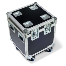 Professional flight case for 16 baseplate