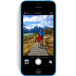 Apple iPhone 5C Blauw 8GB - 3 sterren