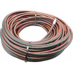 """50 m 1/2'' ROM hp hose Steel ply """"Commercial"""", max. 250 bar (with straight connector on reel side)."""