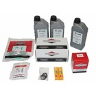 Maintenance kit for periodic service to hp unit with B&S petrol engine 18hp (SmartTrailer - COMPACT Base).Complete with filters, motor oil, hp pump oil, spark plugs and inspection list.