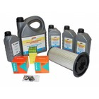 Maintenance kit for periodic service to hp unit with Kubota D1105(T) or V1505 engine. Complete with filters, motor oil, hp pump oil and inspection list.