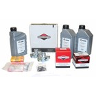 Maintenance kit for periodic service to hp unit with B&S petrol engine 20-23hp (COMPACT < 2010).Complete with filters, motor oil, hp pump oil, spark plugs, three way 1/2'' pressure regulator valves and inspection list.