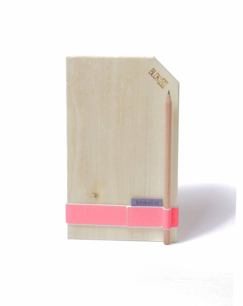 Bloknoot flat Mr. Pink