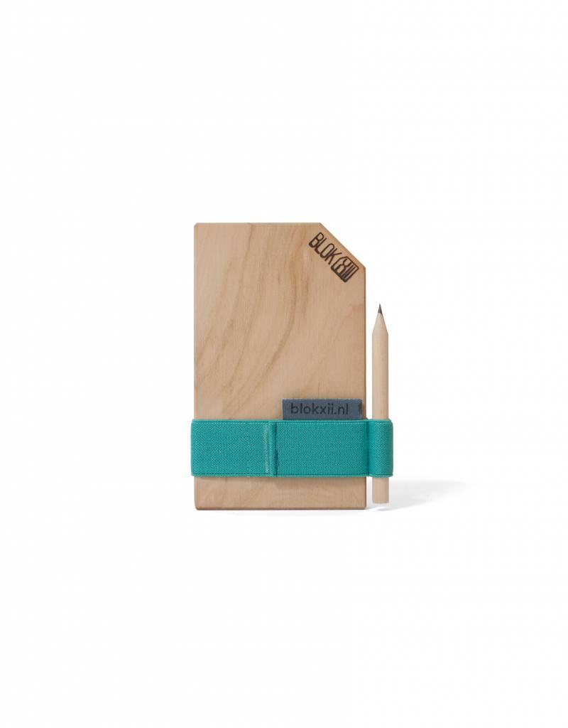 Bloknoot Pocket Size Blue Velvet