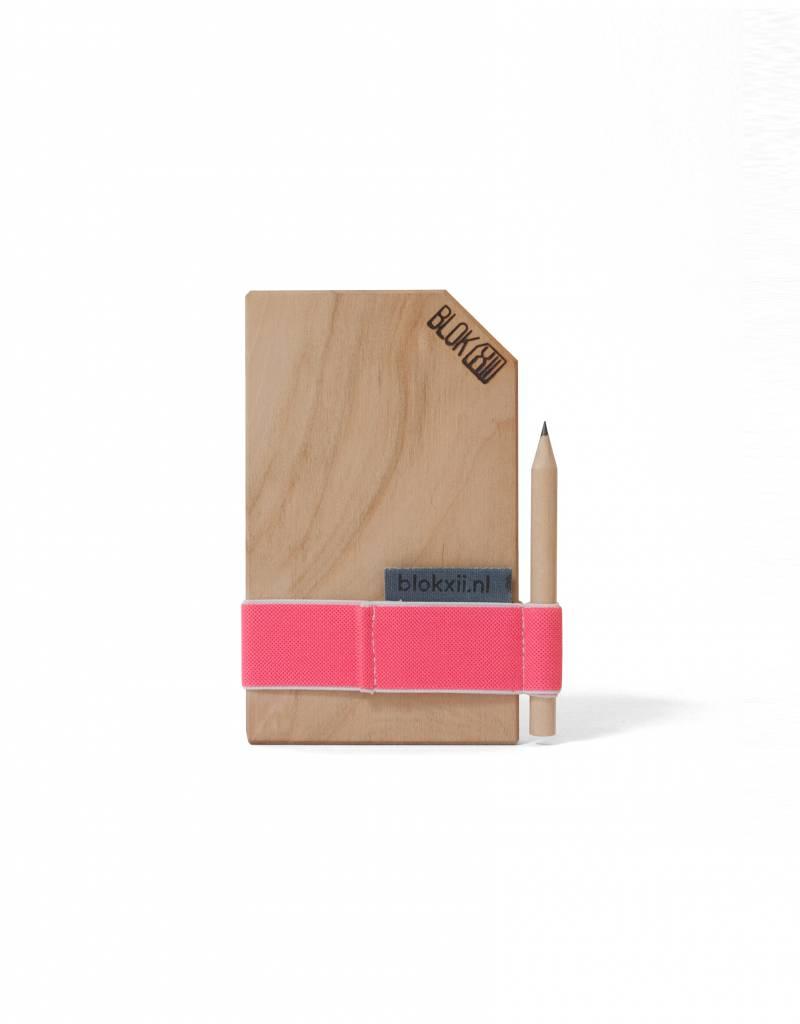 Bloknoot pocket size Mr Pink