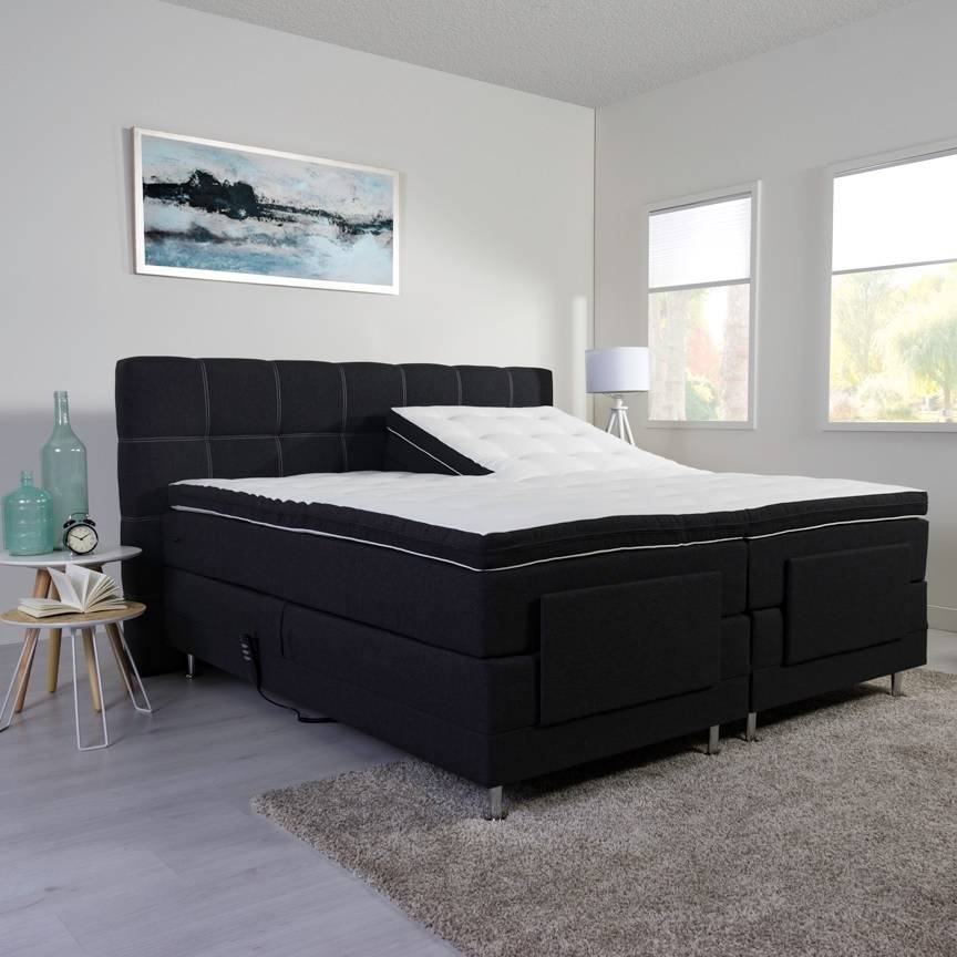 boxspring 140x200 zonder hoofdbord awesome romantovich exclusive stauby boxspring with. Black Bedroom Furniture Sets. Home Design Ideas